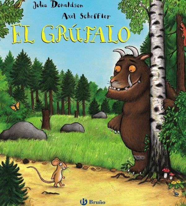 Cuentos para niños de 1 a 2 años - El Grúfalo. Editorial Bruño
