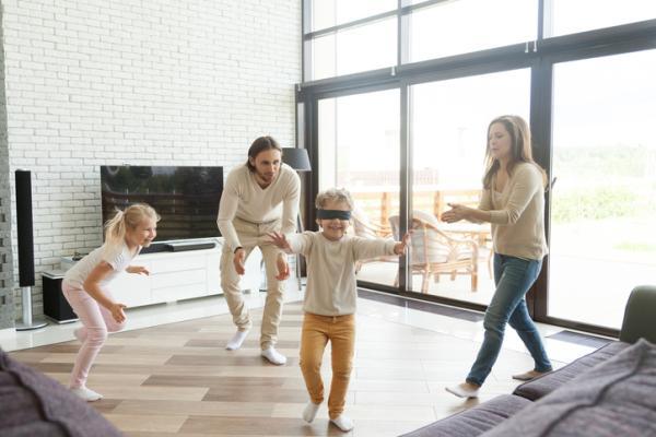 Juegos de confianza para niños de 3 a 5 años - El lazarillo