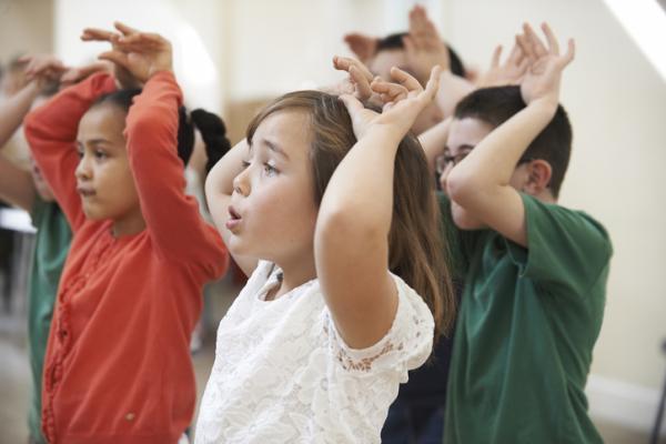 Juegos de confianza para niños de 3 a 5 años - ¿Quién soy?