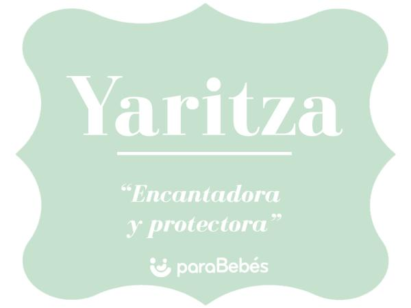 Significado del nombre Yaritza