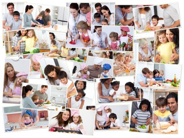 Manualidades para el día de la madre - Collage de fotos