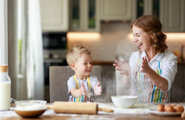 Manualidades para el día de la madre - Pastel