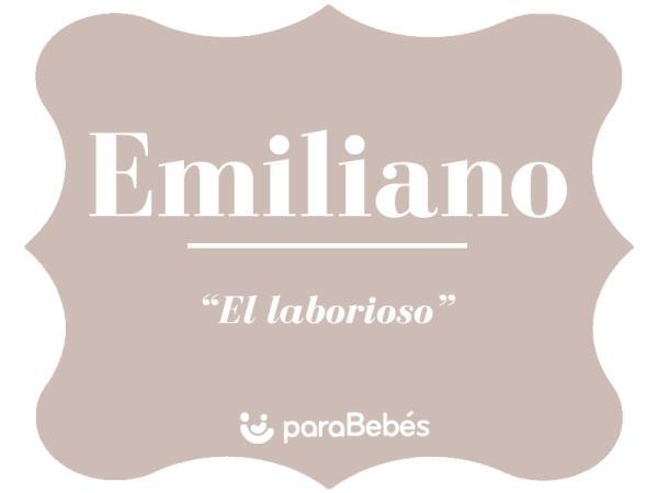 Significado del nombre Emiliano