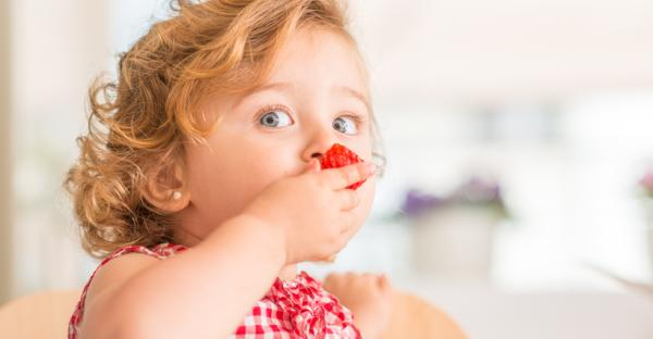 ¿Qué frutas puede comer un bebé de 6 meses? - Fresas