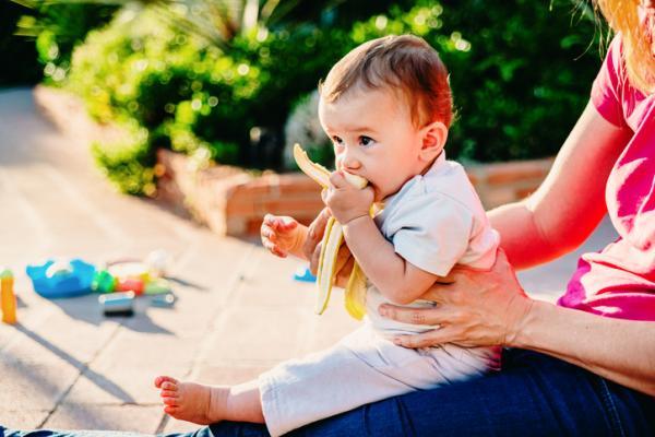¿Qué frutas puede comer un bebé de 6 meses? - Plátano