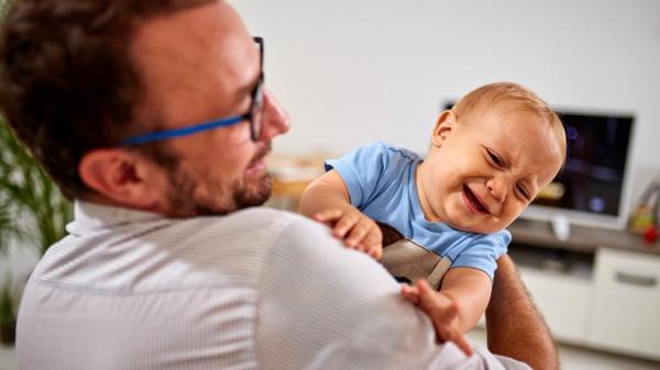 Mi bebé es muy nervioso: por qué y qué hacer - Cómo saber si un bebé es nervioso