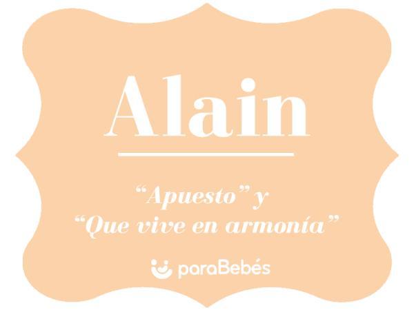 Significado del nombre Alain