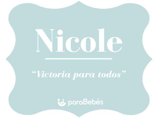 Significado del nombre Nicole