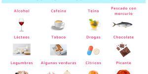 Alimentos prohibidos en la lactancia y el por qué