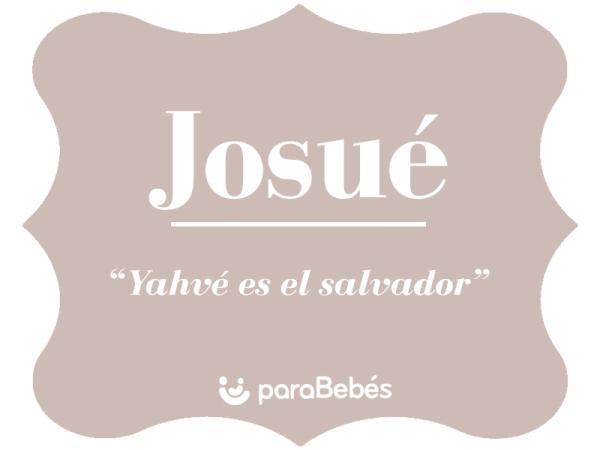 Significado del nombre Josué