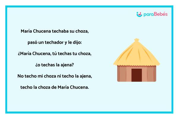 Trabalenguas infantiles - María Chucena
