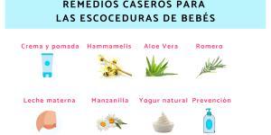 Remedios caseros para las escoceduras de bebés