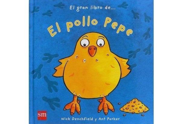 Libros para bebés de 0 a 6 meses - El pollo Pepe. Editorial SM