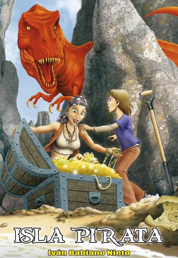 Libros para niños de 8 a 10 años - Isla pirata. Editorial Hidra
