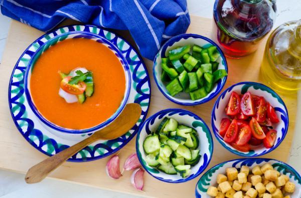Comidas de verano para niños - Gazpacho