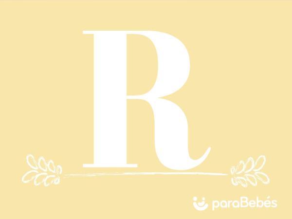 Nombres de niño con la letra R