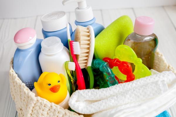 Lista de regalos para un bautizo - Cuidados del bebé