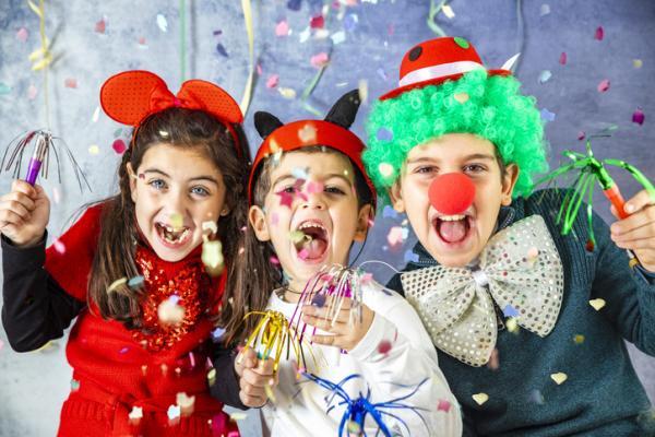 Juegos para fiestas infantiles originales - Me visto