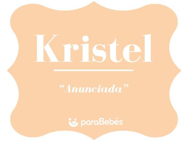Significado del nombre Kristel