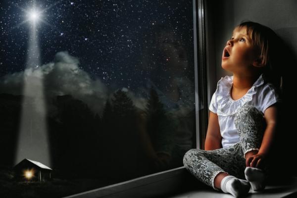 Actividades de espiritualidad para niños/as - Elevar la mirada al cielo