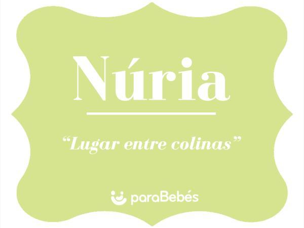 Significado del nombre Núria
