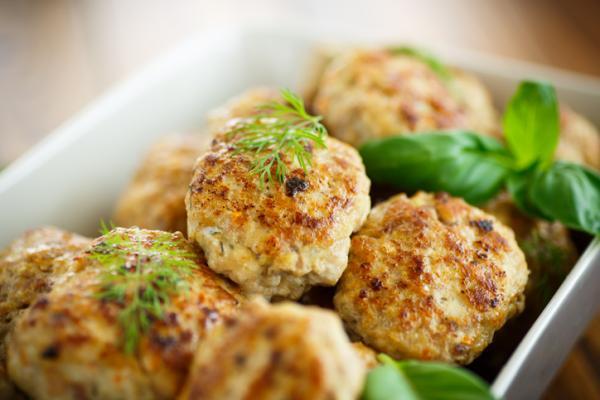Recetas de Baby Led Weaning - Albóndigas de pollo