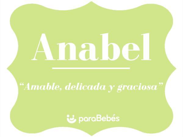 Significado del nombre Anabel