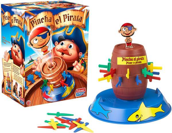 Juegos para niños/as de 6 a 8 años - Pincha el pirata