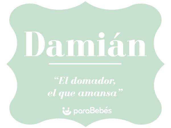 Significado del nombre Damián