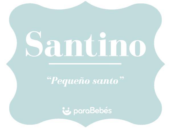 Significado del nombre Santino