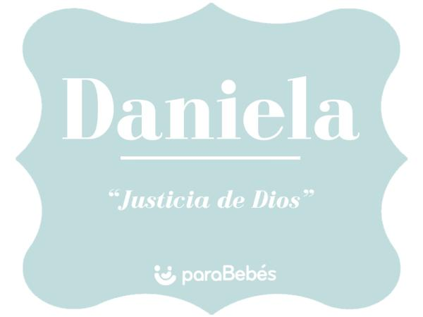 Significado del nombre Daniela