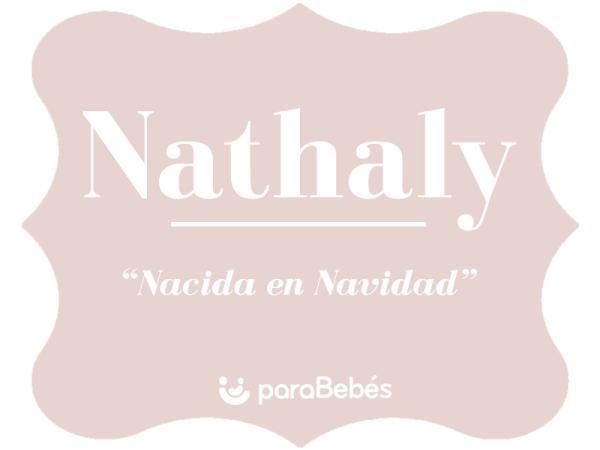 Significado del nombre Nathaly