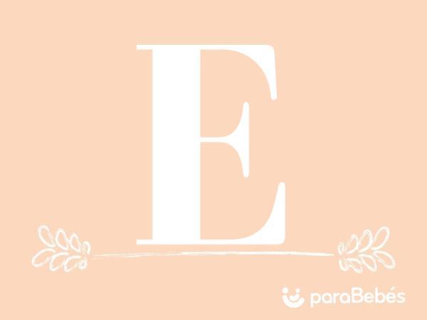 Nombres de niña con la letra E