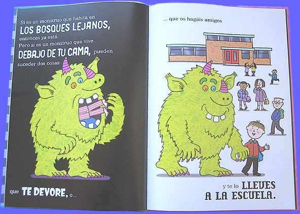 Cuentos cortos para niños de 3 a 5 años - Cuando nace un monstruo. Editorial Juventud