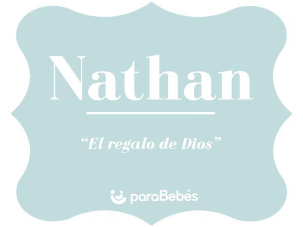 Significado del nombre Nathan