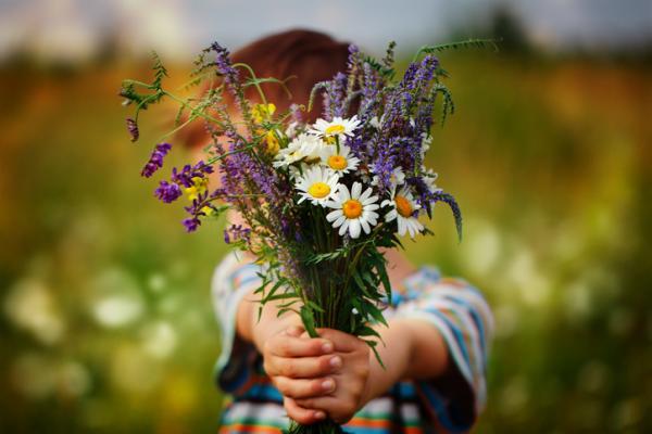 Actividades para la primavera en infantil - Ramo de flores