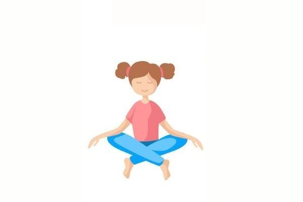 Posturas de yoga para niños - Giros de nuca