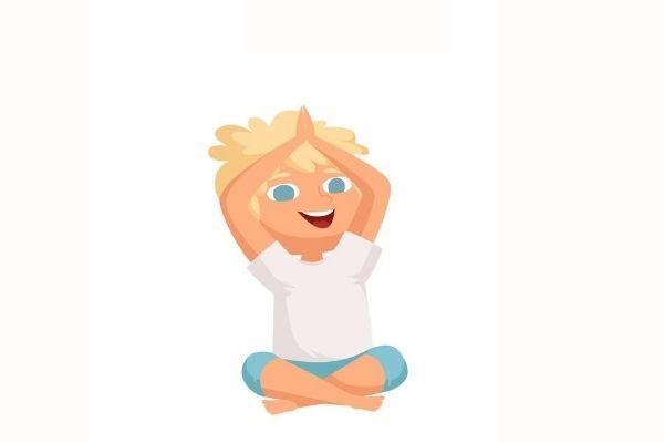 Posturas de yoga para niños - La montaña