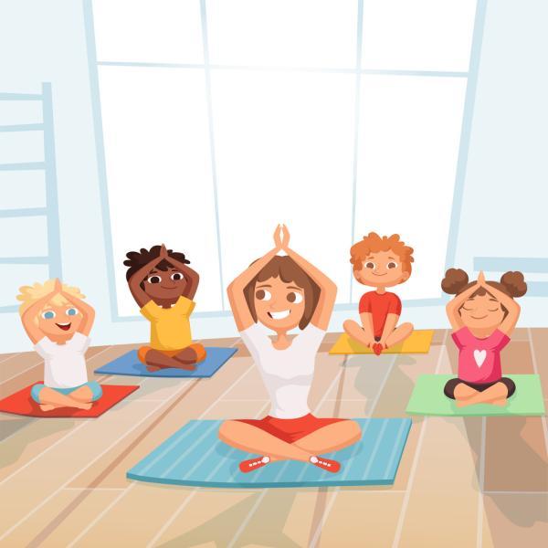 Posturas de yoga para niños - La respiración