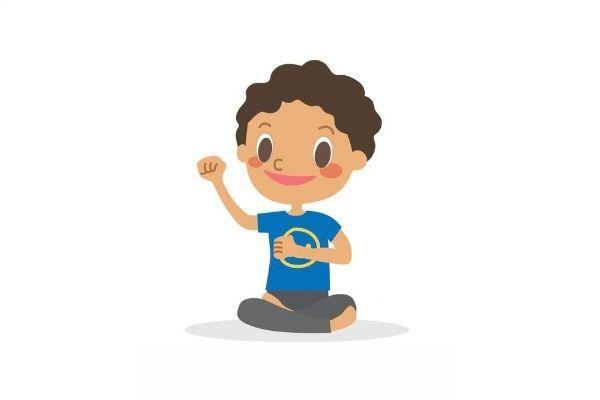 Posturas de yoga para niños - Movimientos de hombros