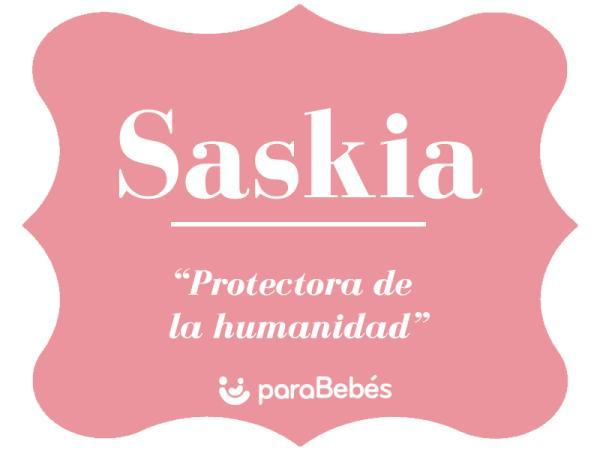Significado del nombre Saskia