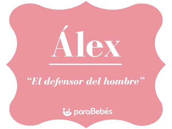 Significado del nombre Álex