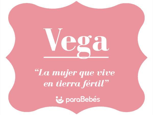 Significado del nombre Vega