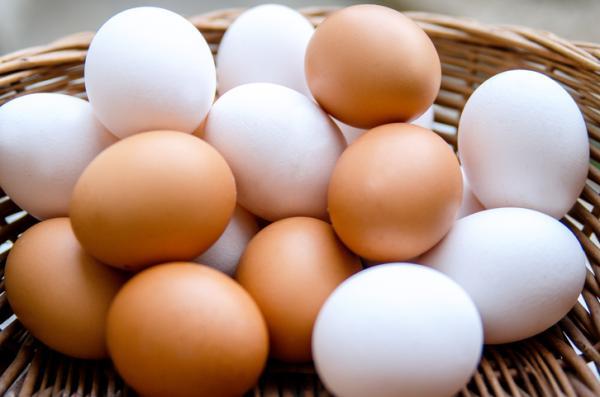 Alimentos con hierro para el embarazo - Huevos