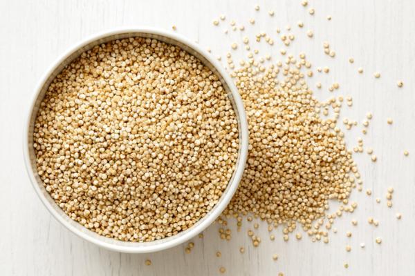 Alimentos con hierro para el embarazo - Quinoa