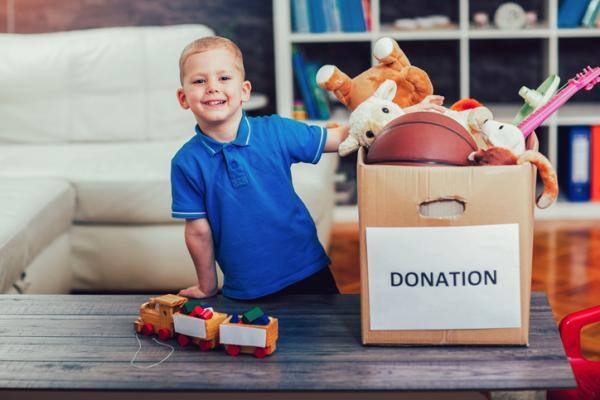 Actividades navideñas para niños/as - Recolecta de juguetes para donar