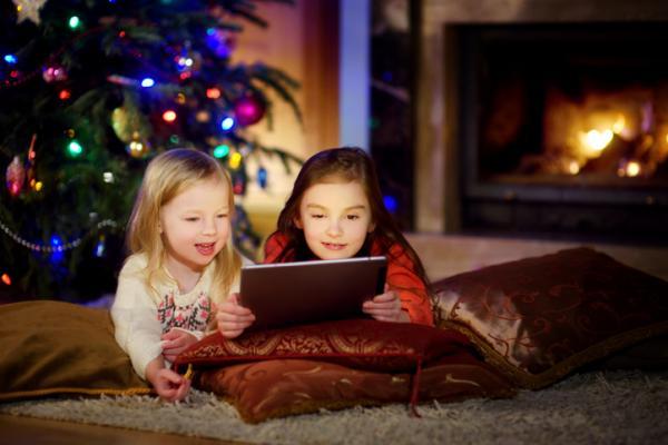 Actividades navideñas para niños/as - Ver una película navideña