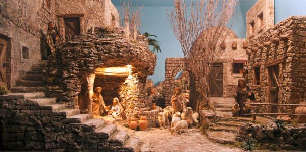 Actividades navideñas para niños/as - Visitar un belén