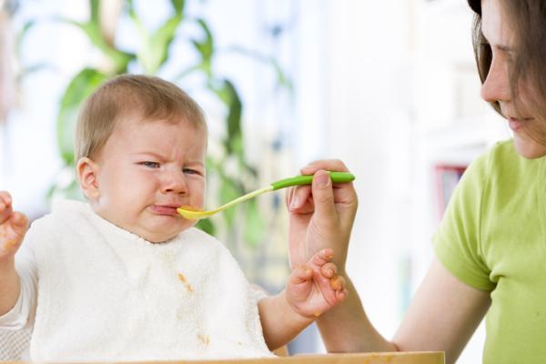 Qué hacer si mi bebé no quiere comer papilla