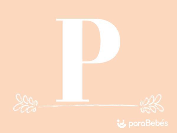 Nombres de niña con la letra P